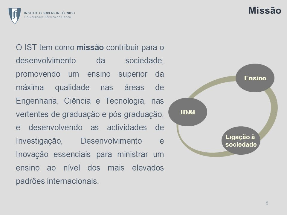 INSTITUTO SUPERIOR TÉCNICO Universidade Técnica de Lisboa 6 A.