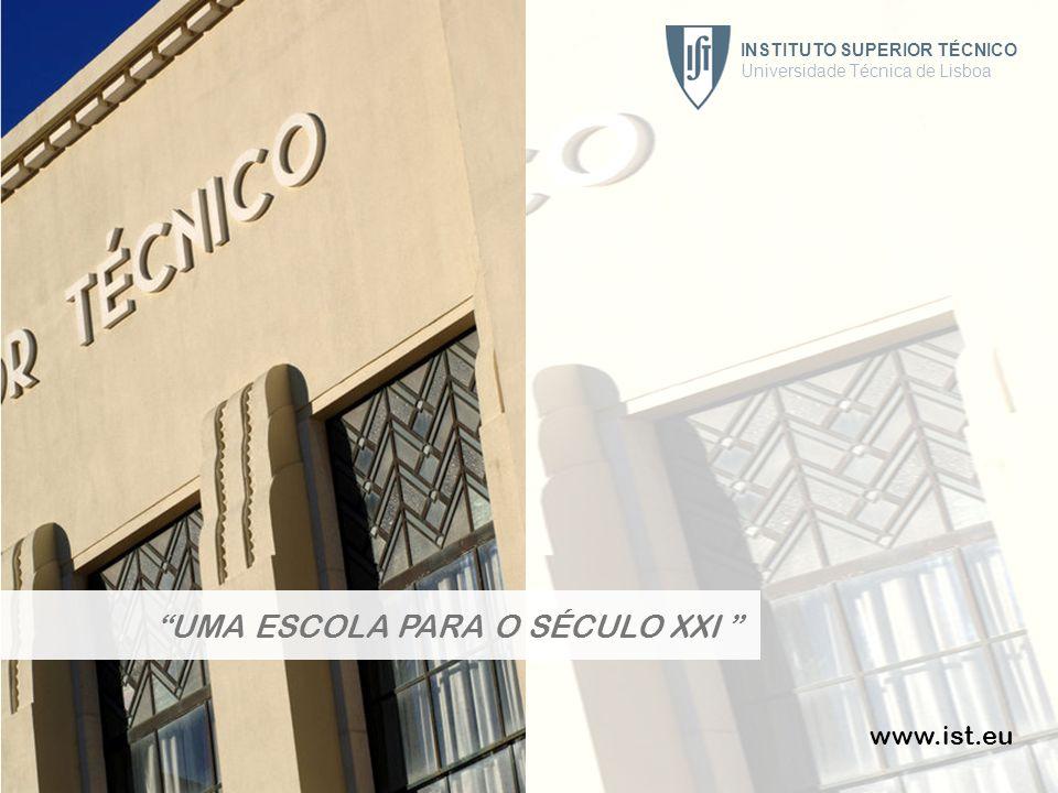INSTITUTO SUPERIOR TÉCNICO Universidade Técnica de Lisboa 51 www.ist.eu UMA ESCOLA PARA O SÉCULO XXI INSTITUTO SUPERIOR TÉCNICO Universidade Técnica d
