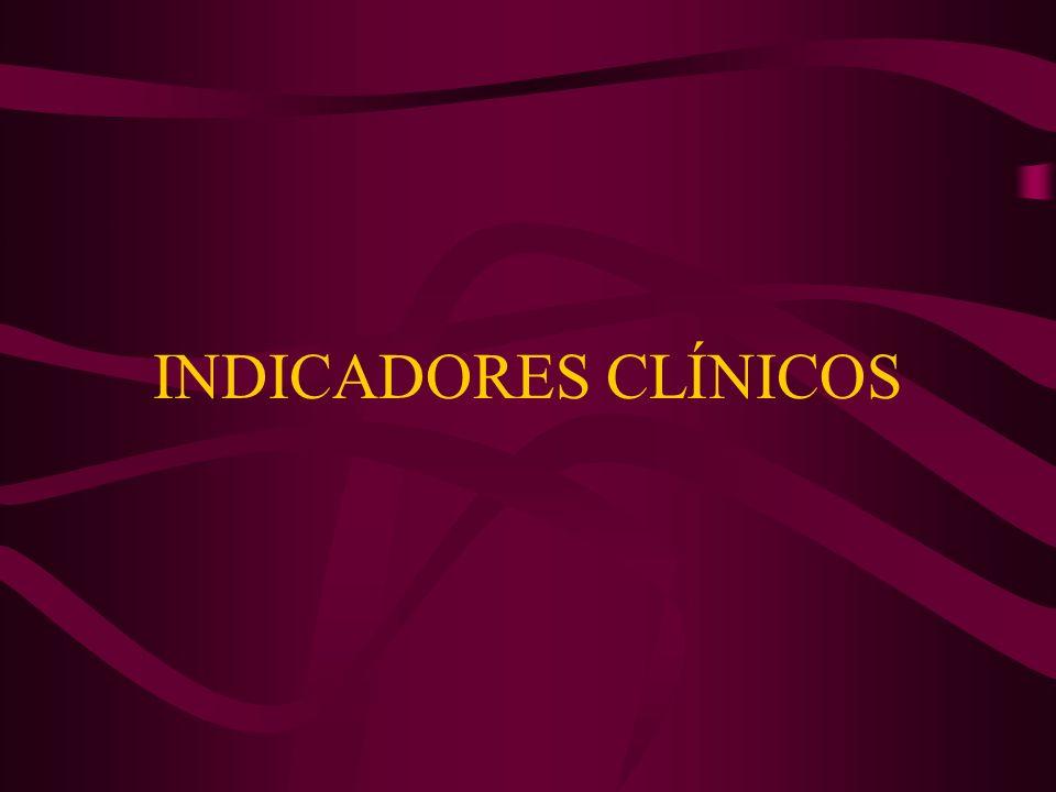 INDICADORES CLÍNICOS