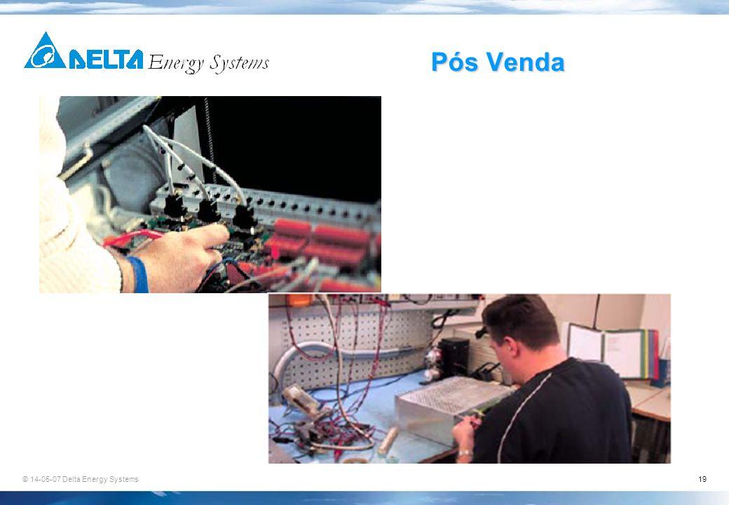 © 14-05-07 Delta Energy Systems19 Pós Venda