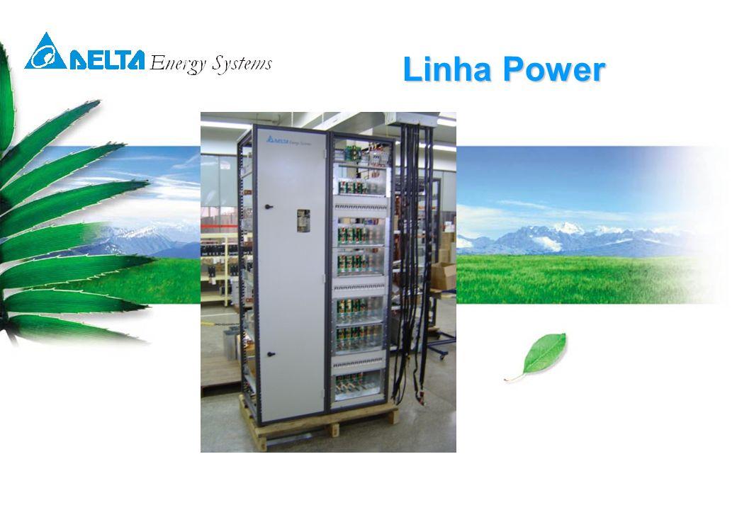 © 14-05-07 Delta Energy Systems8 Linha Power A linha Power foi especialmente desenvolvida pela Delta, para fornecer energia ininterrupta em –48 volts para as mais variadas aplicações.