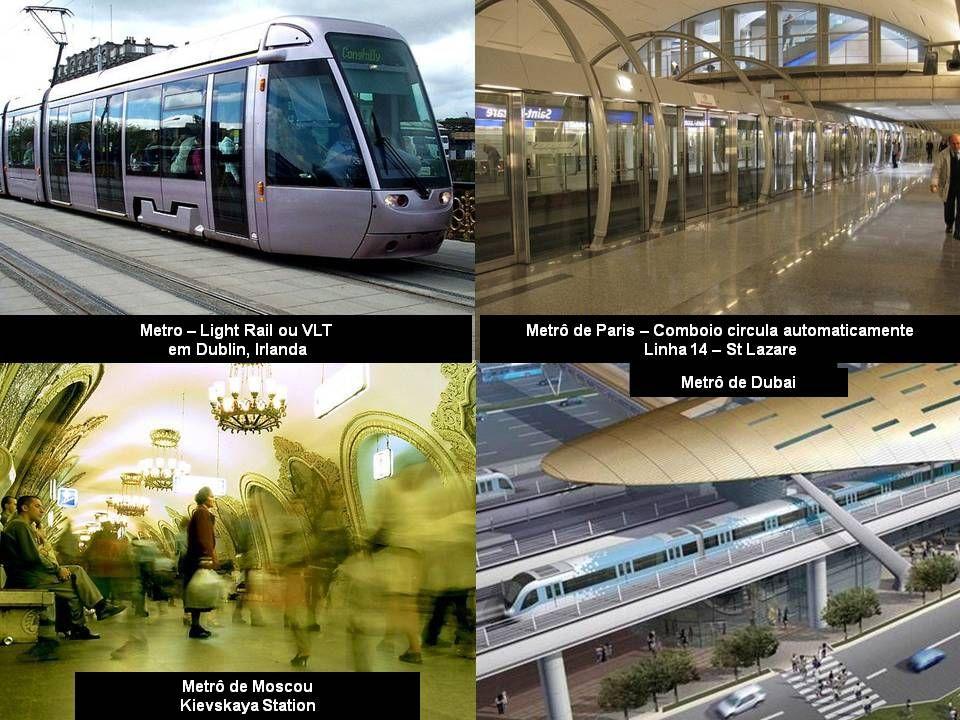 Comboios ou trens de unidades múltiplas (conhecidos no Brasil como trens de subúrbio ou trens urbanos) estacionados no pátio ferroviário de Poznan, na