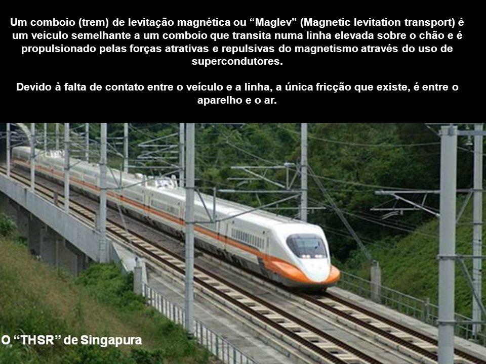 Trens de Alta Velocidade Países que já adotaram o trem rápido: País Extensão (km) Em construção (km) Japão :2.387 590 França : 1.872 299 Espanha :1.59