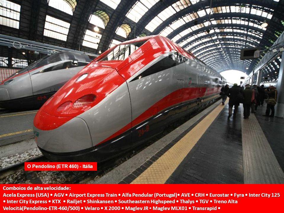 Velocidades O TGV viaja em linhas especiais conhecidas como LGV (ligne à grande vitesse =