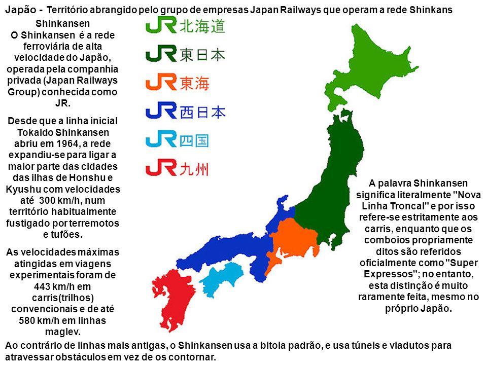 Japão Túnel que o Japão pretendia fazer entre o Japão e a Coreia durante a II Guerra Mundial
