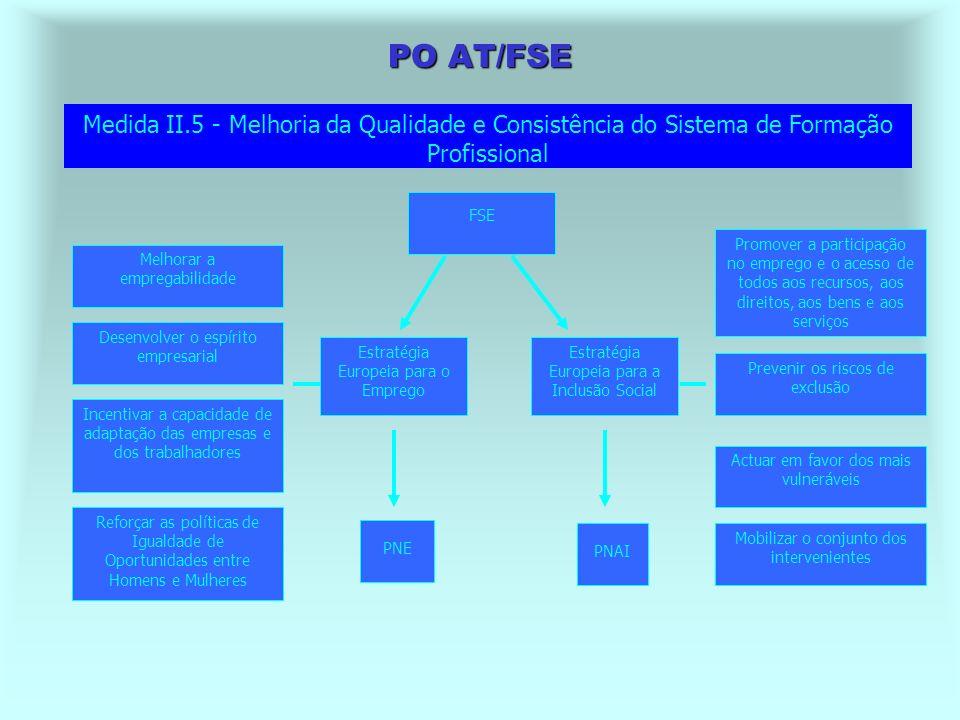 PO AT/FSE Regulamento (CE) 1784/99, art. 1º - O FSE é um dos principais instrumentos de apoio da EEE e das orientações anuais para o emprego, as quais