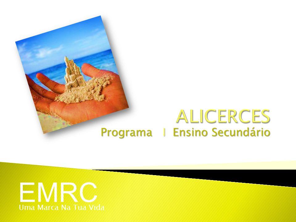 Programa I Ensino Secundário EMRC Uma Marca Na Tua Vida
