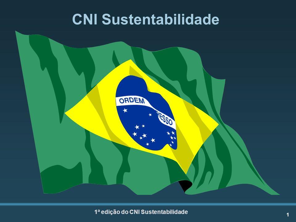 1 1ª edição do CNI Sustentabilidade CNI Sustentabilidade