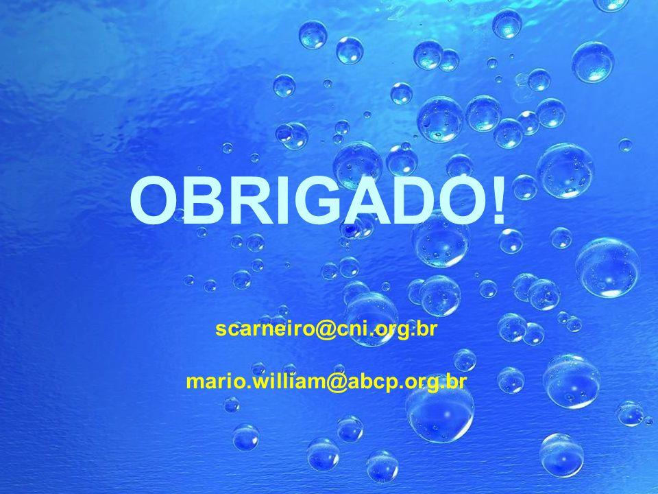 25 1ª edição do CNI Sustentabilidade OBRIGADO! scarneiro@cni.org.br mario.william@abcp.org.br