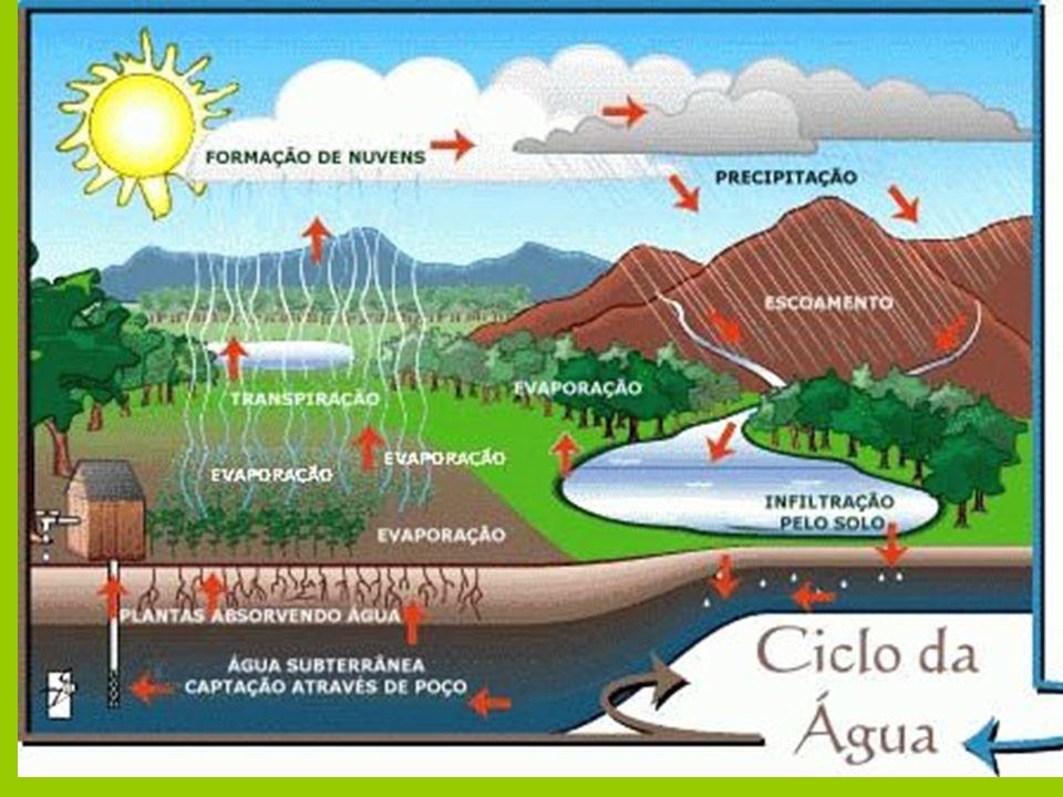 A quantidade de água no mundo é a mesma há 500 milhões de anos 1,27 bilhões de km 3