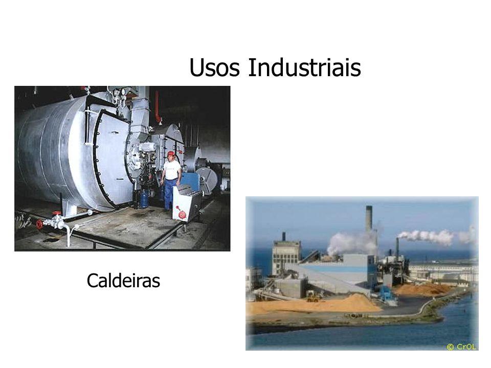 Usos Industriais Caldeiras