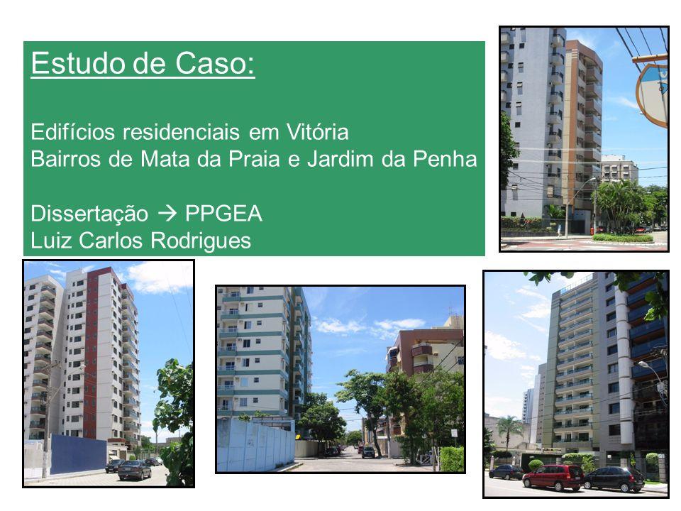 GRUPO BASC – MATA DA PRAIA Estudo de Caso: Edifícios residenciais em Vitória Bairros de Mata da Praia e Jardim da Penha Dissertação PPGEA Luiz Carlos