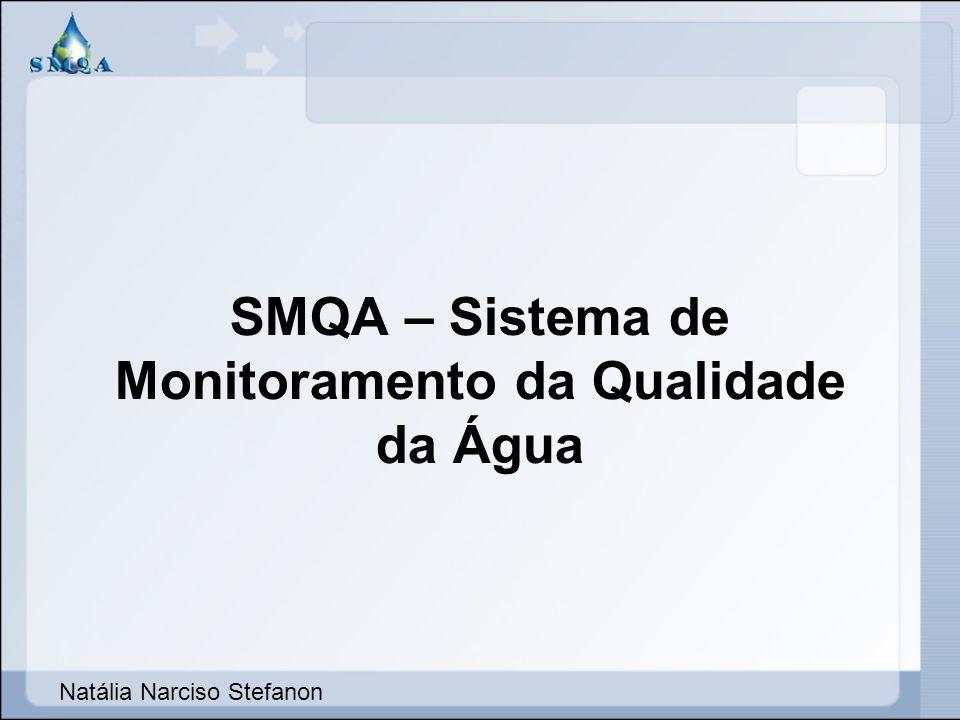 Telas e Relatórios do Sistema SMQA – Sistema de Monitoramento da Qualidade da Água