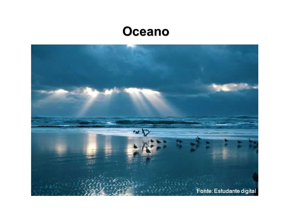 Oceano Fonte: Estudante digital