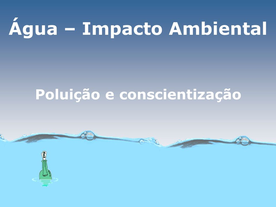 Controle da poluição Tecnologias destrutivasTecnologias de transferência de fase Baseiam-se na oxidação química Radiação UV + O 3 ou UV + H 2 O 2 formando OH 1- ou O 1- (PAOs) Transfere os poluentes da fase aquosa para a sólida, por exemplo, pela adição de carvão ativo na água Vantagem: ausência de subprodutos MO + agente oxidante CO 2 + H 2 O Desvantagem: processo caro A poluição não é eliminada, apenas deixa de ser veiculada pelo meio aquoso para ser transformada em resíduos sólidos ou emitida para a atmosfera 2