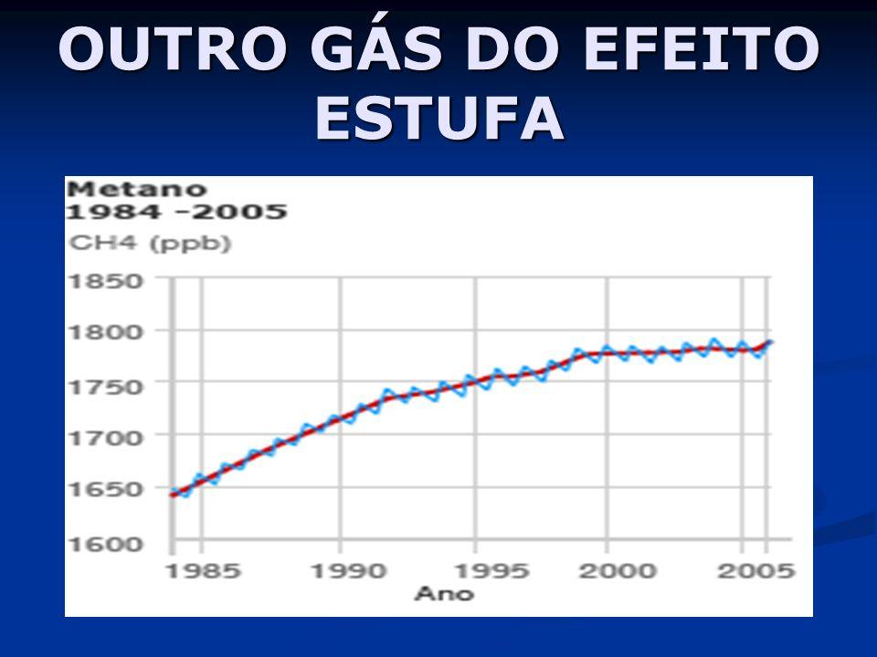 OUTRO GÁS DO EFEITO ESTUFA