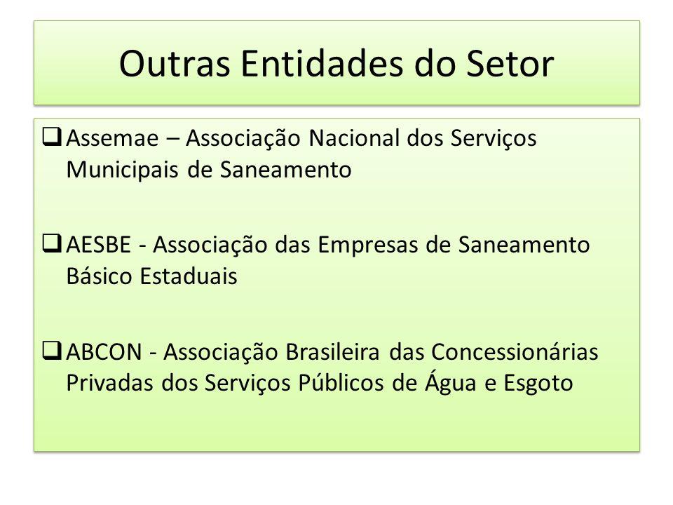 Novo momento do saneamento Lei 11.107 de 6 de abril de 2005 - Consórcios Públicos Nova redação ao art.