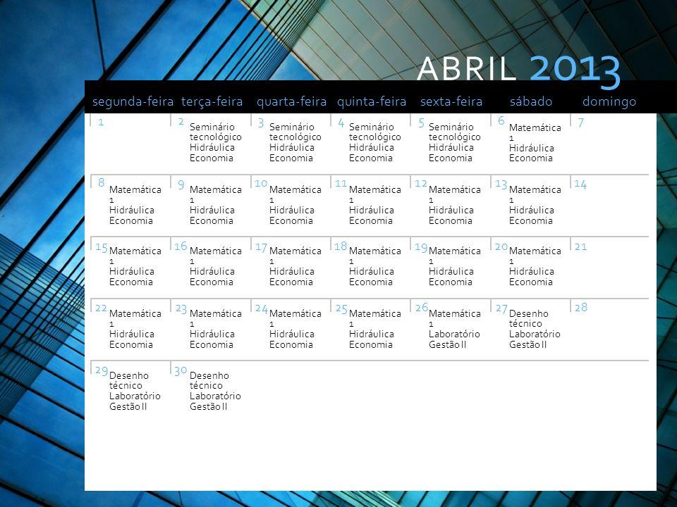 Nota: Pode imprimir este modelo para usar como calendário de parede. Pode também copiar o diapositivo de um mês específico para adicionar à sua aprese