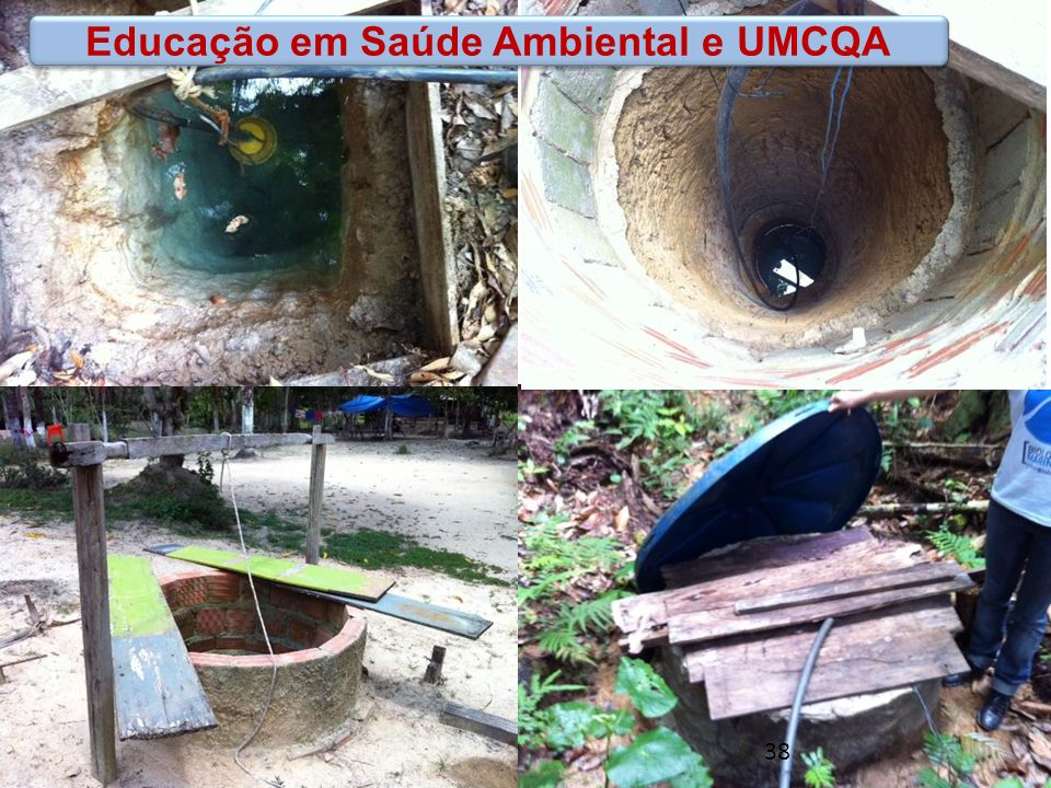 www.funasa.gov.br www.facebook.com/funasa.oficial twitter.com/funasa Educação em Saúde Ambiental e UMCQA 38