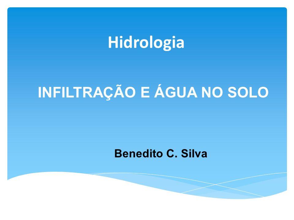 INFILTRAÇÃO E ÁGUA NO SOLO Benedito C. Silva Hidrologia
