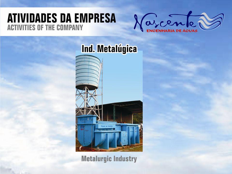 Laboratório Próprio A Nascente conta com laboratório de analises físico-químicas e bacteriológicas, procedendo analises de acordo com as Normas Brasileiras (NBR s) que regulamentam este setor e está credenciado no CRQ - Conselho Regional de Química.