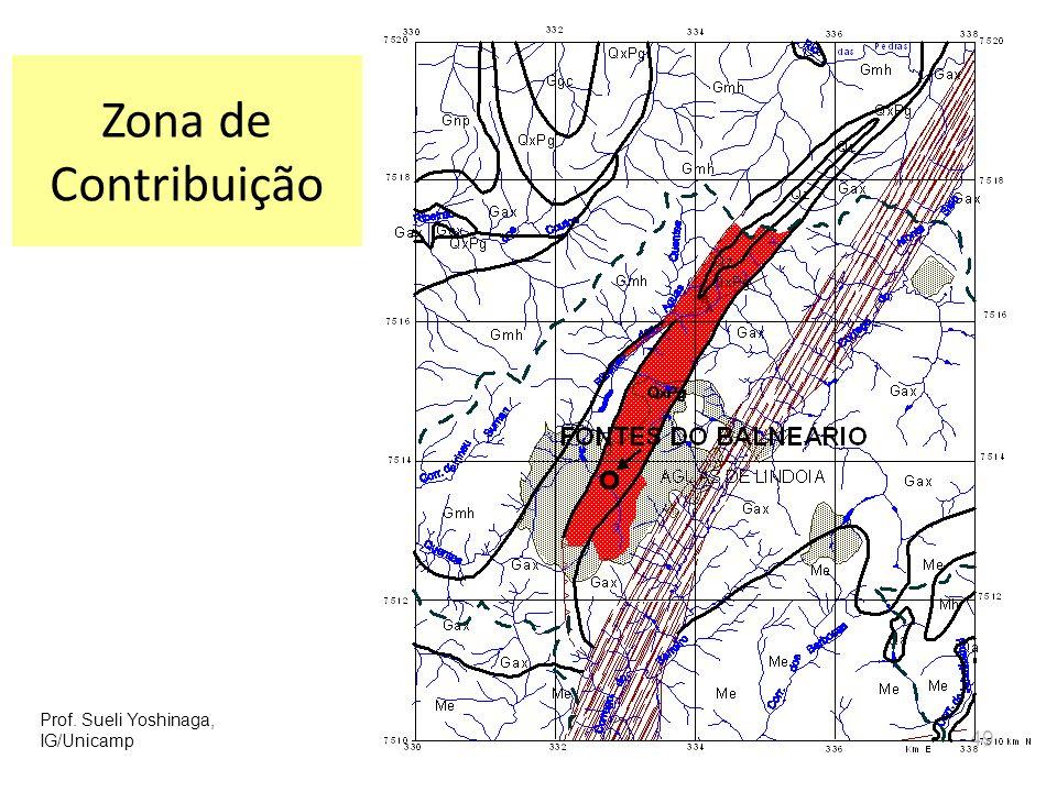 49 Zona de Contribuição Prof. Sueli Yoshinaga, IG/Unicamp