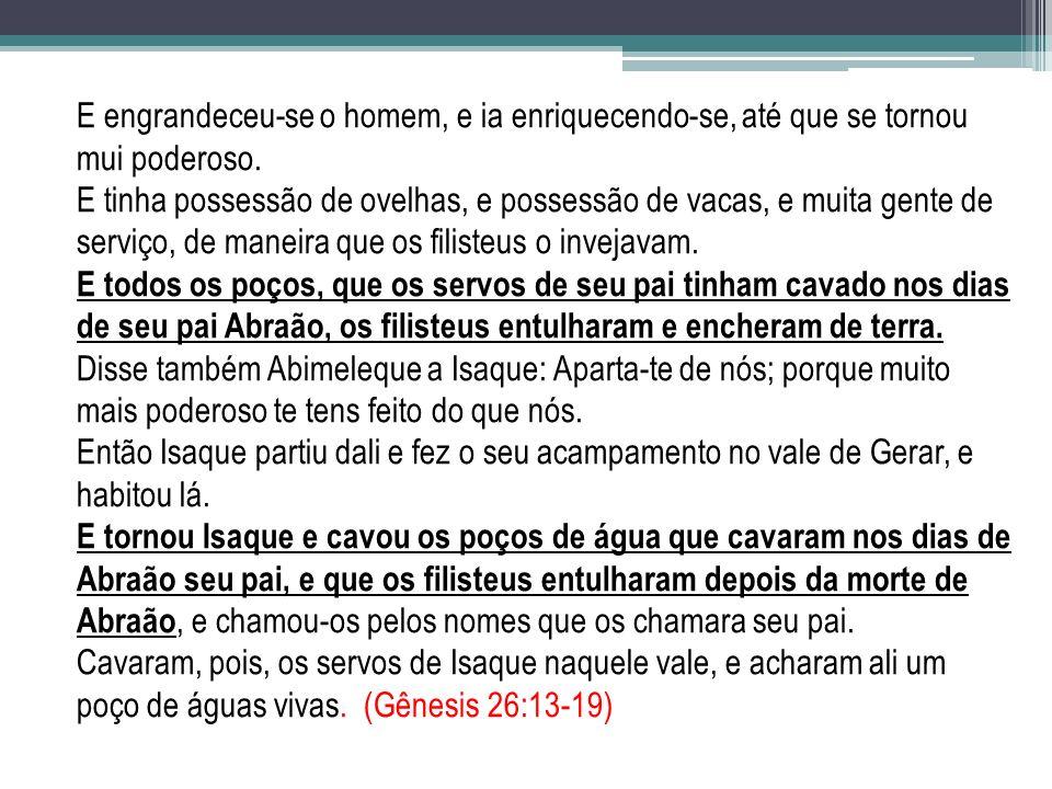 CONTÉM PROPORCIONA A ÁGUA FARÁ GERAR O REINO DE DEUS A ÁGUA NÃO É A VIDA...