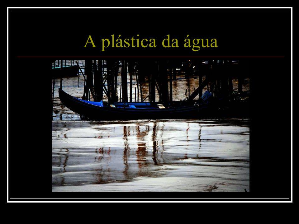 A plástica da água