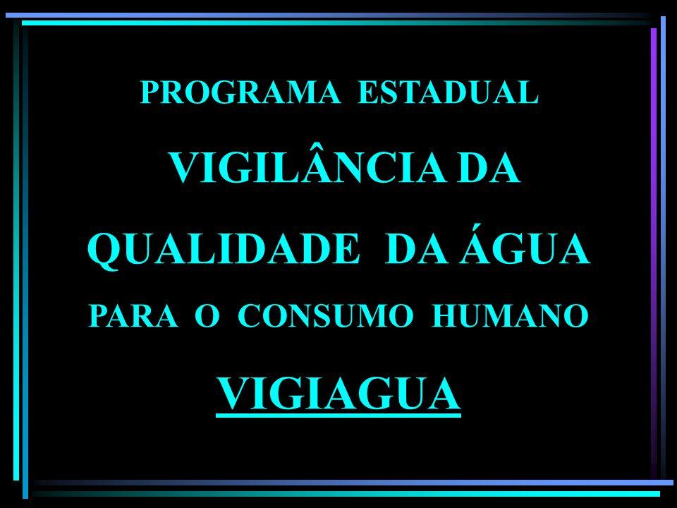 INSTRUÇÃO NORMATIVA Nº 1/2005 PROGRAMA ESTADUAL VIGILÂNCIA DA QUALIDADE DA ÁGUA PARA O CONSUMO HUMANO VIGIAGUA