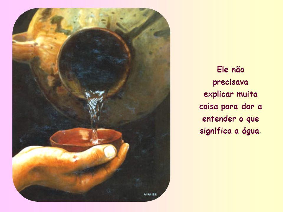 Nesta pérola do Evangelho, que são as palavras dirigidas à samaritana junto ao poço de Jacó, Jesus fala da água como do elemento mais simples, que, no entanto, se revela o mais almejado, o mais vital para quem tem familiaridade com o deserto.