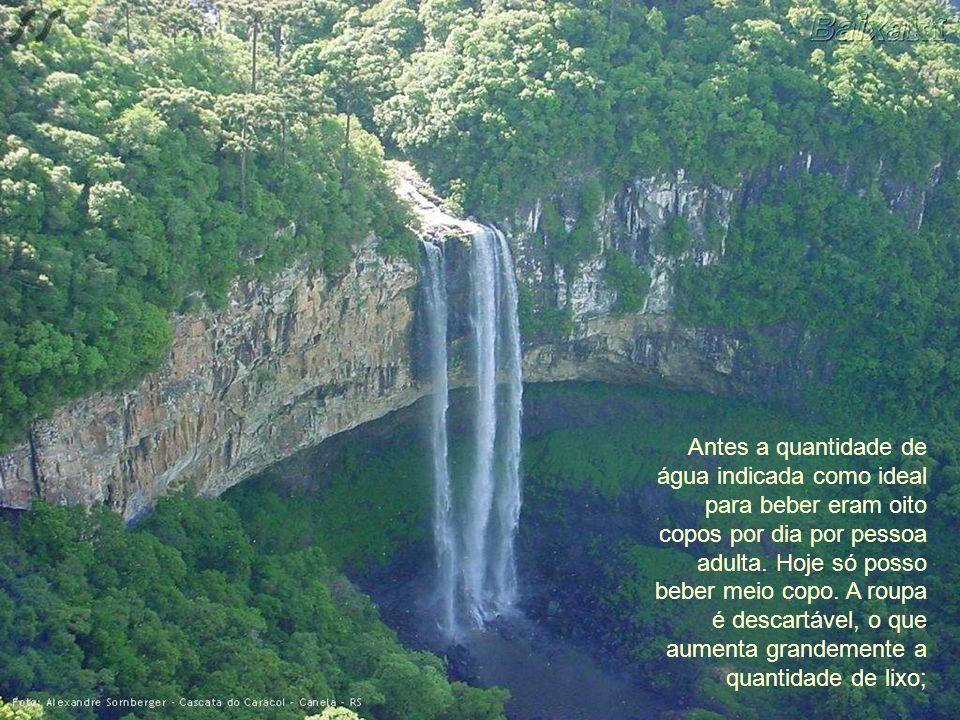 Cachoeira do Caldeirão – Baependi – MG – Brasil Foto: Rildo Silveira Recordo que havia muitos anúncios que diziam CUIDA DA ÁGUA, só que ninguém lhes l