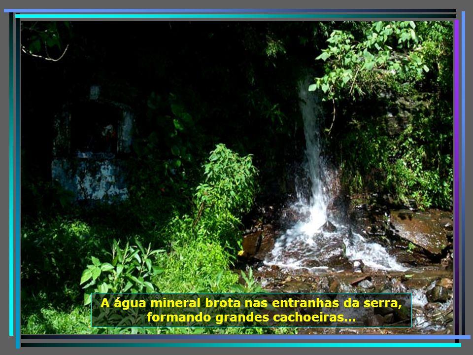 Nessas montanhas nascem os Rios Pelotas, Canoas, que juntos formam o Rio Uruguai, Urubici, Itajai-açu, Tubarão, Sete Quedas, Rio dos Bugres e tantos o