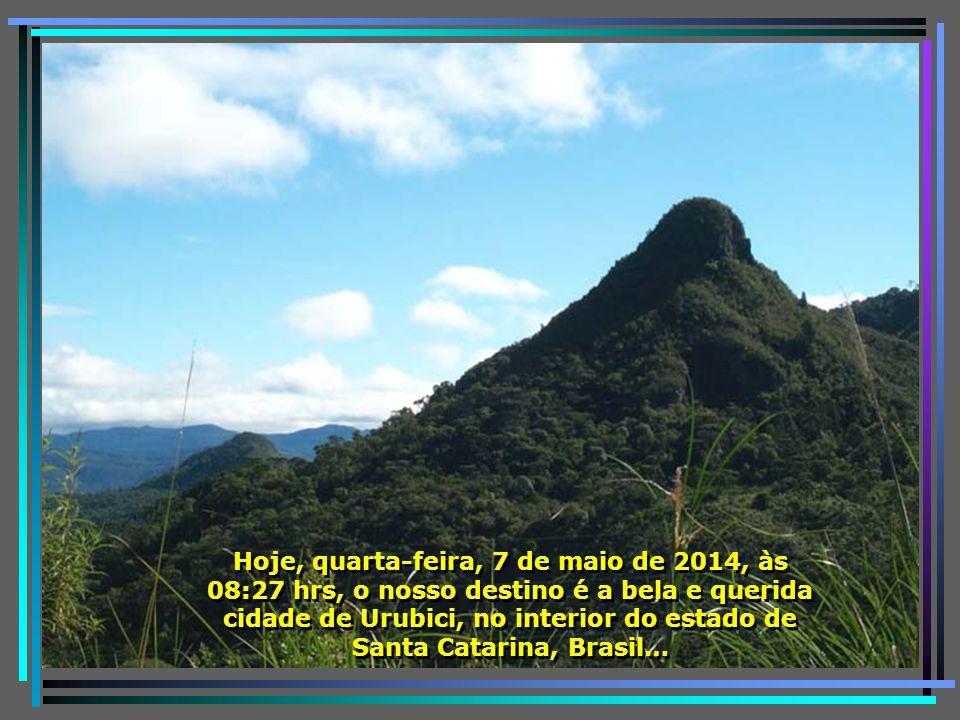 E vamos novamente botar o pé na estrada, conhecer as belezas do nosso querido Brasil…