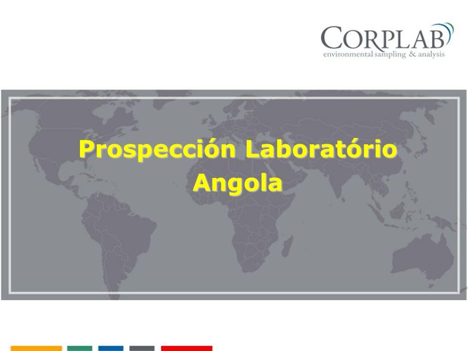 Prospección Laboratório Angola