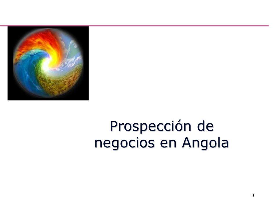 3 Prospección de negocios en Angola