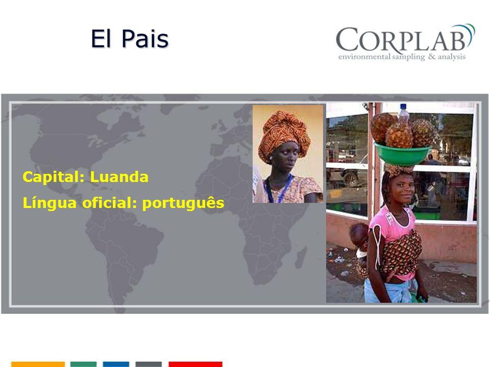 Capital: Luanda Língua oficial: português El Pais