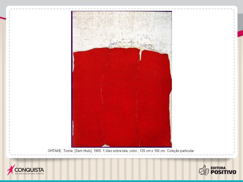 OHTAKE, Tomie.[Sem título]. 1996. 1 acrílica sobre tela, color., 100 cm x 100 cm.