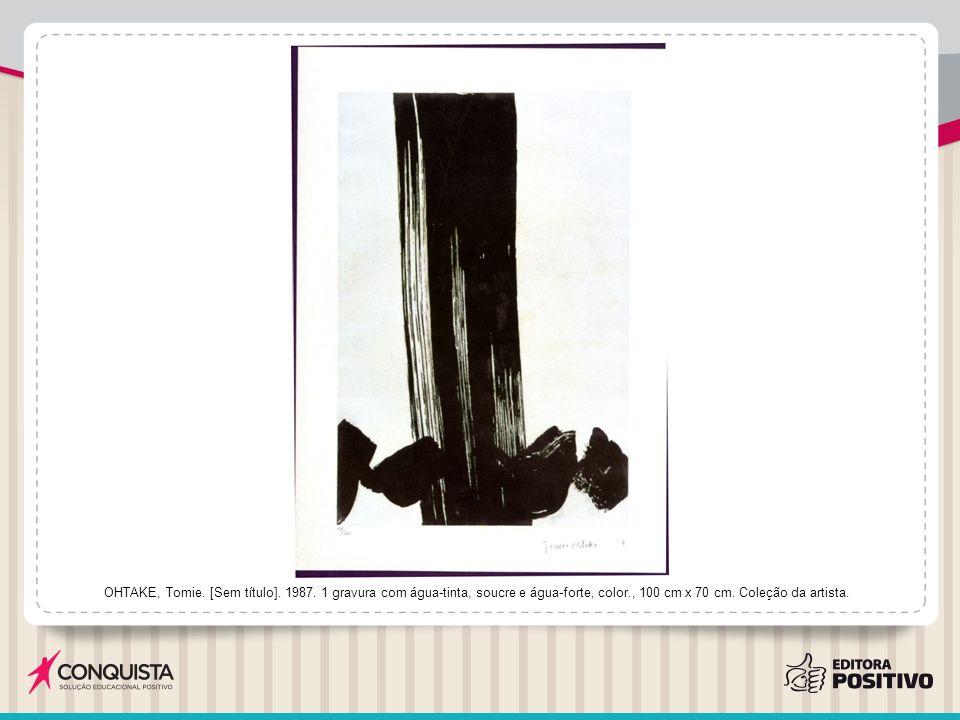 OHTAKE, Tomie.[Sem título]. 1987.
