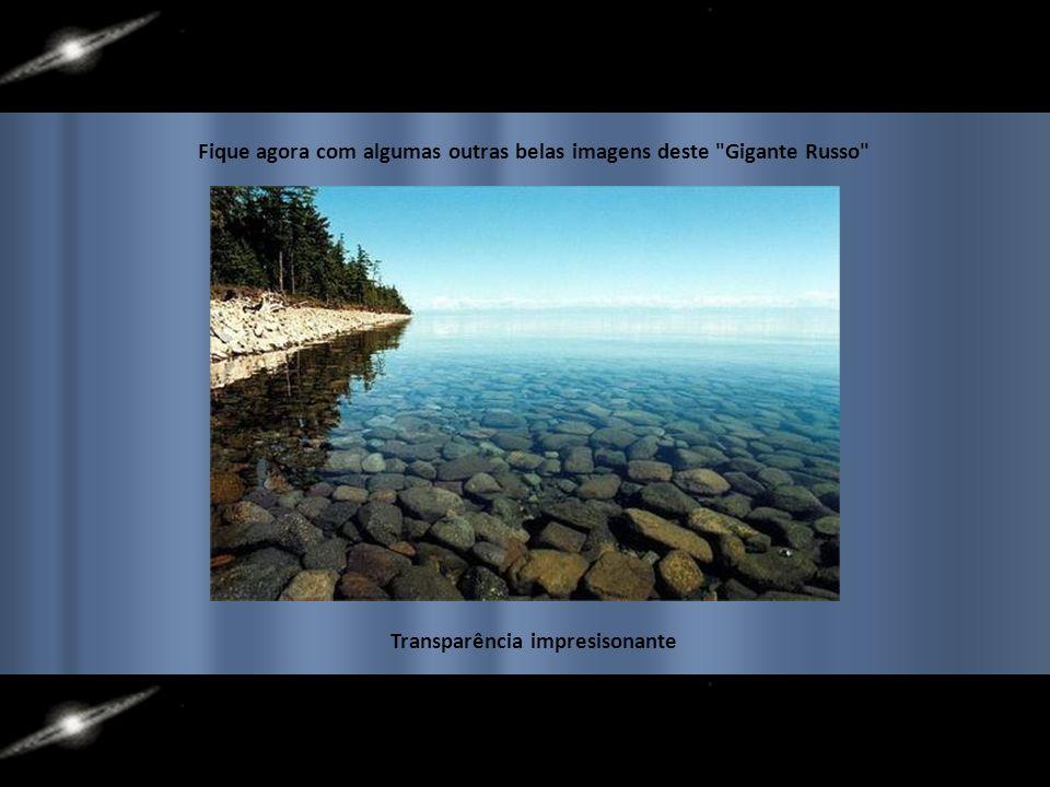 Belas paisagens contornando o Baikal
