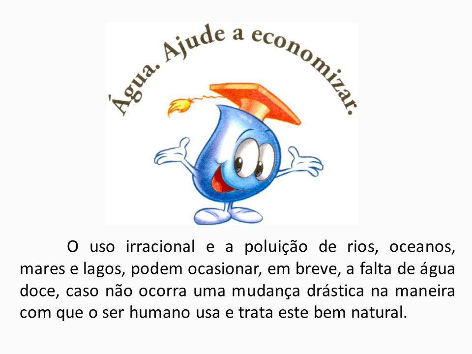 Água no uso Doméstico TOTAL DE GASTO POR PESSOA Nos países desenvolvidos pode chegar a 600 litros.