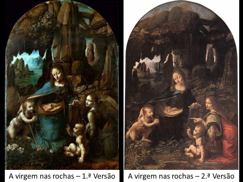 A virgem nas rochas – 2.ª VersãoA virgem nas rochas – 1.ª Versão