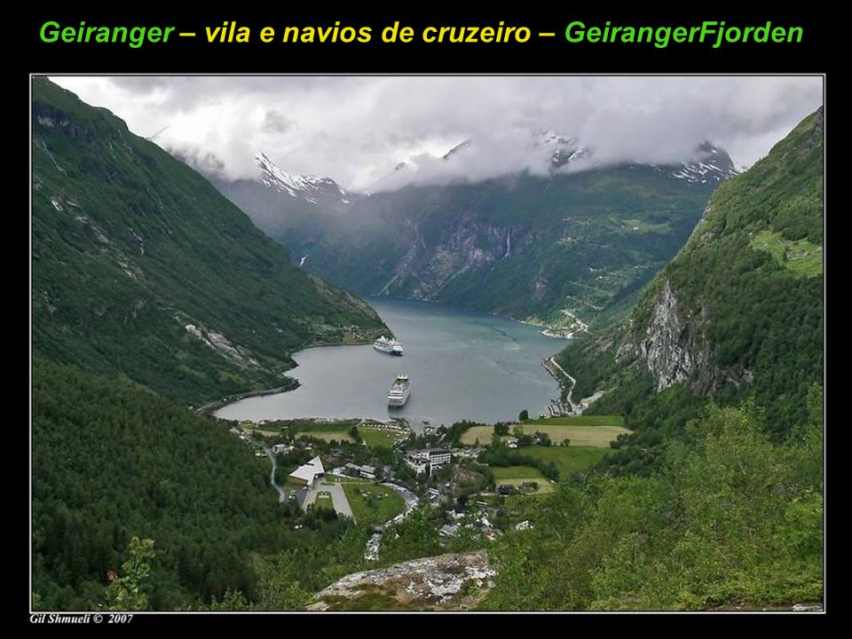 A Queda de água das 7 Irmãs – GeirangerFjorden