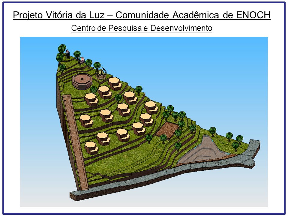 Projeto Vitória da Luz – Comunidade Acadêmica de ENOCH Centro de Pesquisa e Desenvolvimento