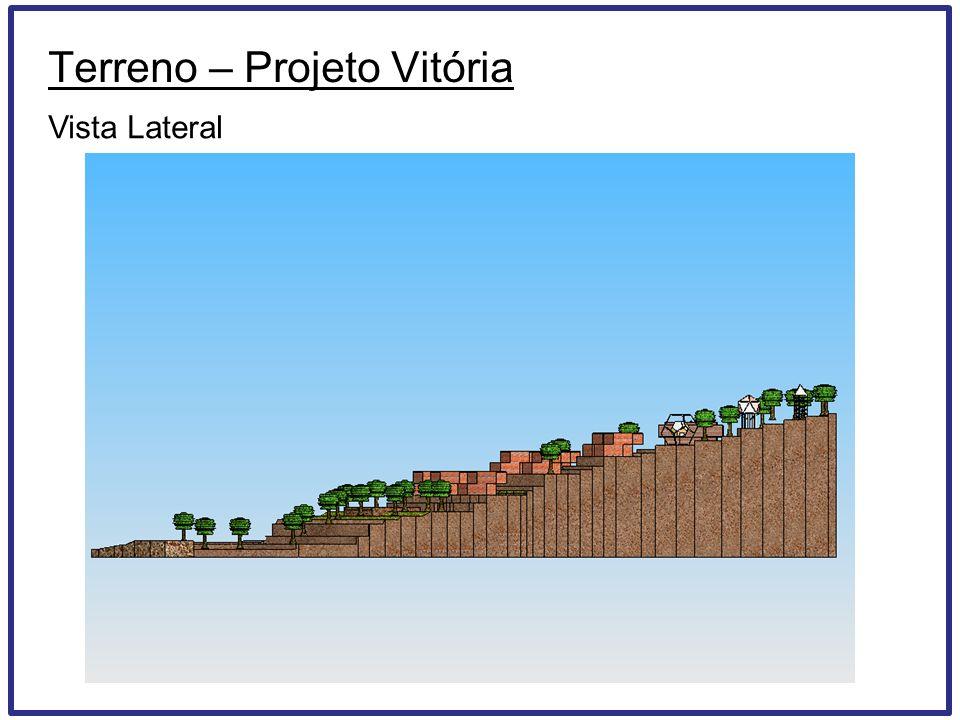 Terreno – Projeto Vitória Vista Lateral