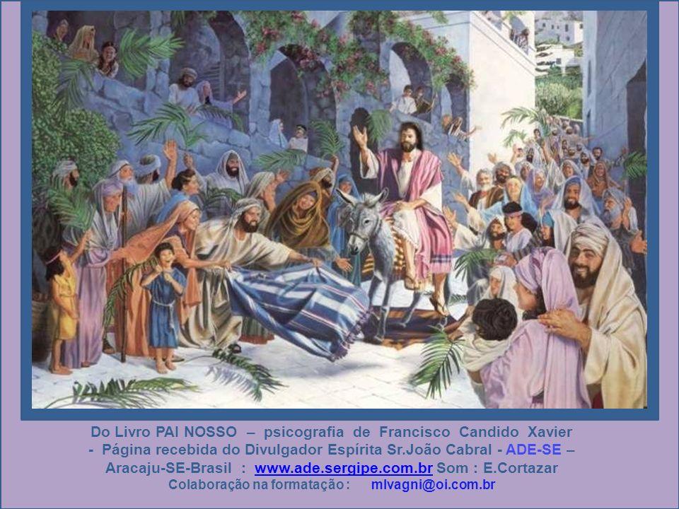 A jovem atendeu prontamente e começou a compreender que, na edificação do Reino Divino, Jesus espera de nós, acima de tudo, a bondade sincera e fiel d