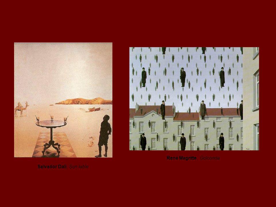 O objecto surrealista André Breton faz experimentações com objectos na sua série Poème- Object.