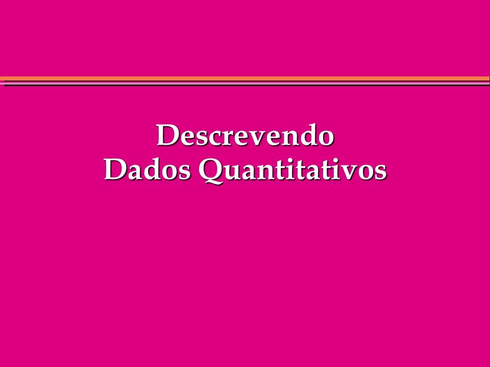 Solução do Intervalo Interquartílico Intervalo Interquartílico Dados:1716211813161211 Ordenados:1112131616171821 Posição:12345678 Intervalo Interquart.