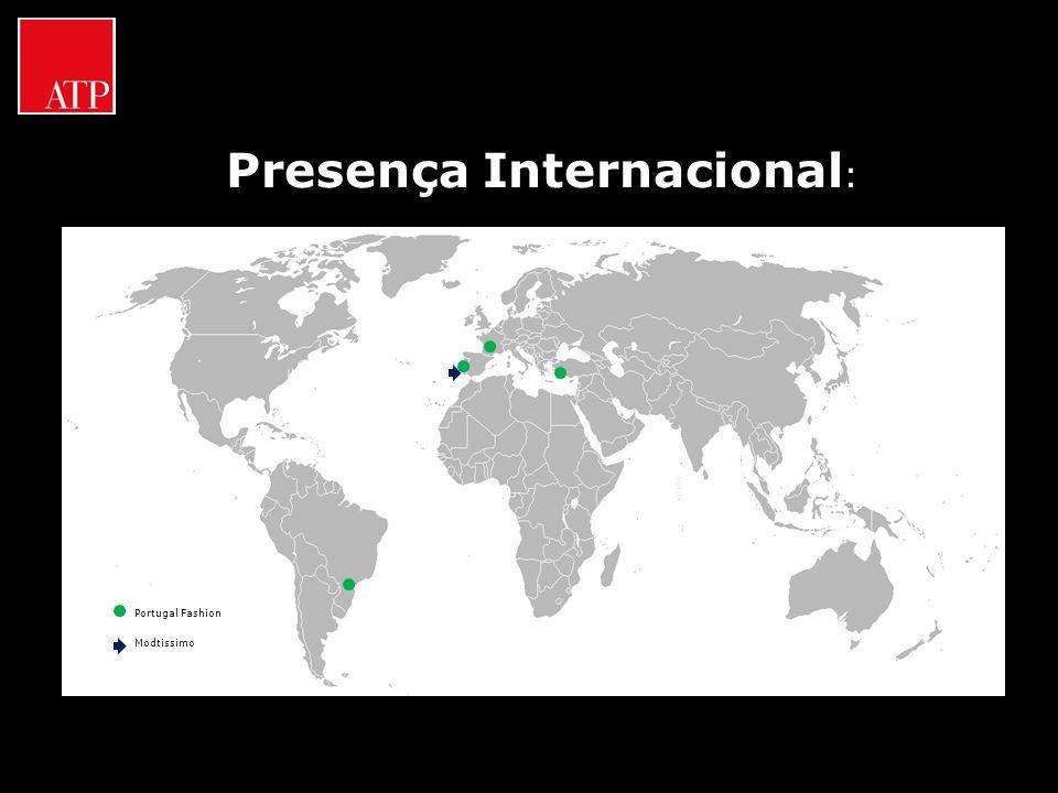 Presença Internacional : Portugal Fashion Modtissimo