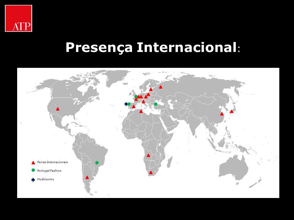 Presença Internacional : Feiras Internacionais Portugal Fashion Modtissimo