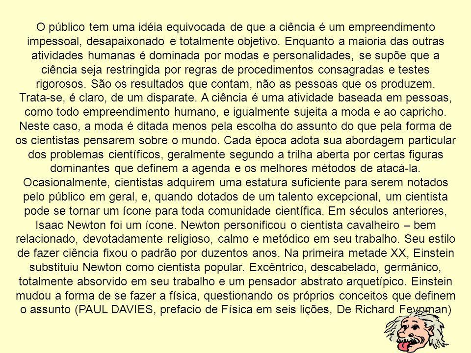 O que Paul Davies fala.
